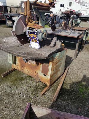 Industrial Saws for Sale in Stockton, CA