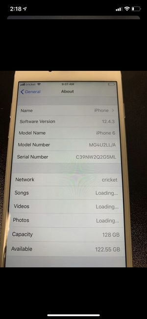 iPhone 6 Great condition, 128 gigs for Sale in Hillsboro, OR