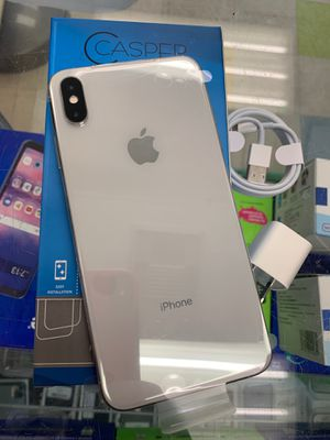 Factory unlocked iPhone XS Max 64 gb sold with warranty for Sale in Boston, MA