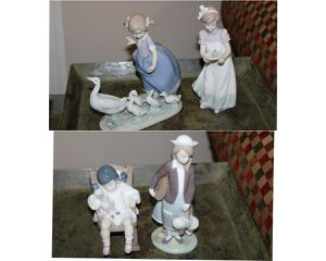 Lladro porcelain figurines for Sale in Columbus, OH