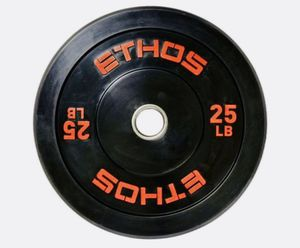 New 2)25's lb set BUMPERS OLYMPIC PLATES for Sale in Davie, FL