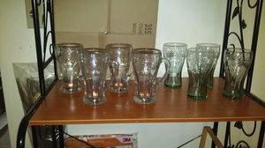 Coca-Cola glass collection excellent condition for Sale in Cape Coral, FL