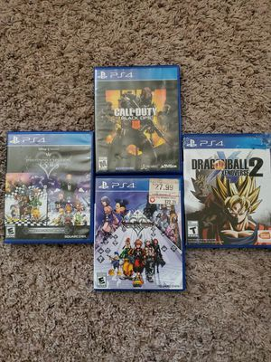 Ps4 Games for sale for Sale in South Brunswick Township, NJ