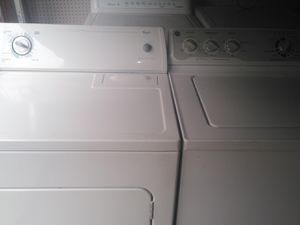 Whirlpool dryer and ge washer 340$$$ delivered and installed for Sale in The Colony, TX