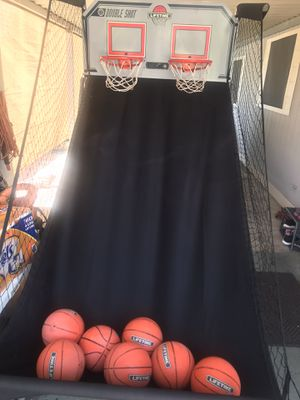 Double shot basketball hoop for Sale in Las Vegas, NV