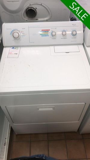 NO CREDIT!! Whirlpool High Efficiency Electric Dryer CONTACT TODAY! #1521 for Sale in Fort Washington, MD