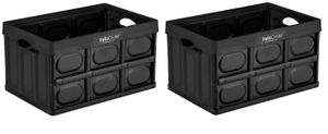 Greenmade InstaCrate Collapsible Storage Container 12 gallon 2-Pack. Used for Sale in Doral, FL