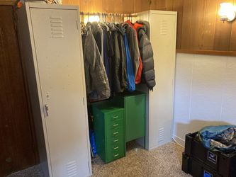 Metal lockers for gear, storage, clothes, wardrobe for Sale in Seattle,  WA