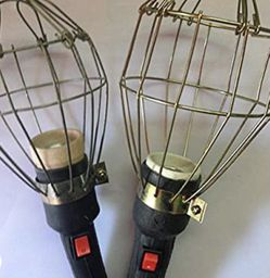 Metal Lamp Bulb Guard Clamp Vintage Light Cage Hanging Industrial Lamp Covers Pendant Decor for Home Bar Decor for Sale in Mars,  PA