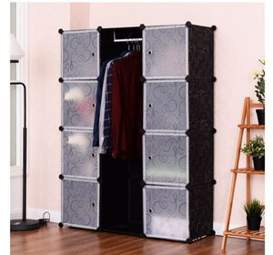 12 Cubes Portable Closet Storage Organizer Clothes Wardrobe for Sale in Rancho Cucamonga, CA
