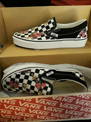 Classic slip-on Van's 6.5 women's never worn for Sale in West Sacramento, CA