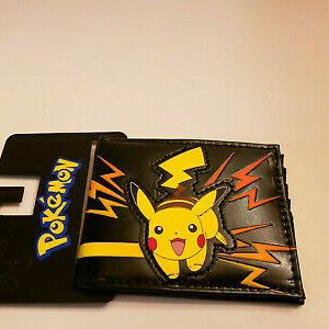 Happy Pokemon Pikachu With Lighting Fold Out Wallet for Sale in Southington, CT