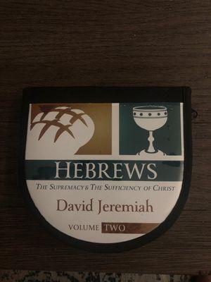 Dr. David Jeremiah - Hebrews Vol 2 10 CD sermons for Sale in Las Vegas, NV