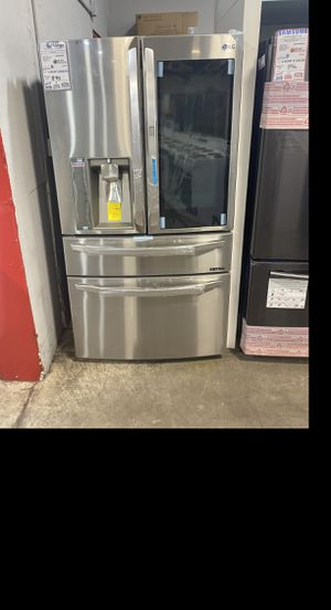 LG French door stainless steel SMART fridge #918 for Sale in South Farmingdale, NY