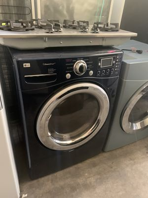 LG BLUE STAINLESS GAS DRYER for Sale in Corona, CA
