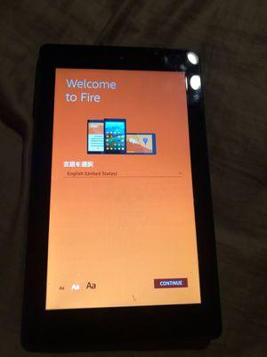 Amazon fire tablet for Sale in Etiwanda, CA