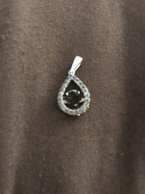 10K chocolate diamond Pendent /10K Gold chain for Sale in Baltimore, MD