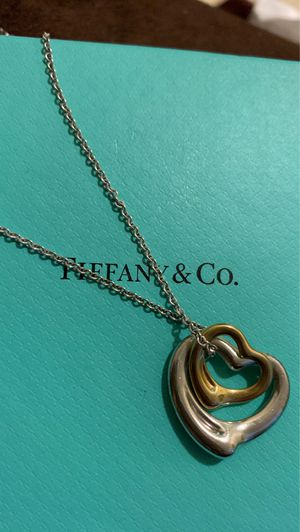 Tiffany and co Elsa Peretti 18K Open Hearts Necklace FIRM PRICE for Sale in Temple City, CA