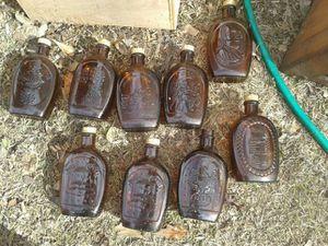 Antique Log Cabin Syrup Bottles for Sale in Fairburn, GA