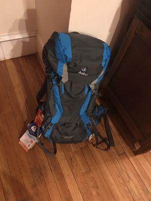 Deuter futera 50+10 backpack for Sale in Cambridge, MA