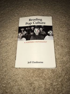 Reading Pop Culture: A Portable Anthology by Jeff Ousborne W/ FREE PENLIGHT JUST IN TIME FOR HOLDAY SEASON! for Sale in Tampa, FL