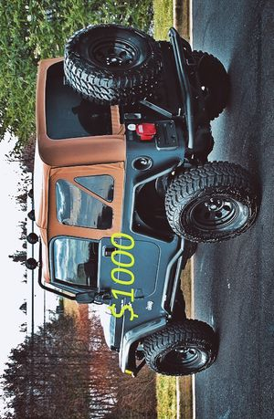 2000 Jeep Wrangler-$1000 ✅ Clean Title ❇️81K Miles✅4.0L 6Cyl. Automatic Transmission ❇️Fully Loaded! for Sale in Little Rock, AR