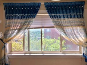 Hand made windows curtains for Sale in Alexandria, VA