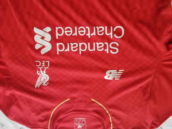 Liverpool Jersey authentic never used