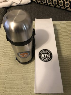 BRAND NEW NATIONAL TRUCKERS HOT/COLD STAINLESS STEEL THERMOS for Sale in Las Vegas, NV
