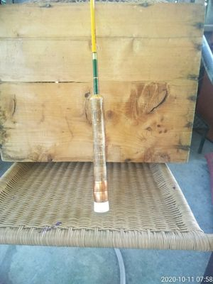 "Custom made 66"" fishing rod( vintage) 2 pc for Sale in Phoenix, AZ"