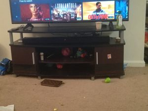 Tv table holds up to 55 inch for Sale in Woodbridge Township, NJ