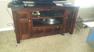 3 pcs cherry wood entertainment wall unit for Sale in Douglasville, GA
