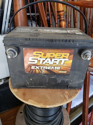 Super start extreme battery for Sale in Lake Elsinore, CA