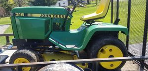 316 john deer tractor for Sale in WALKERSVILLE, MD
