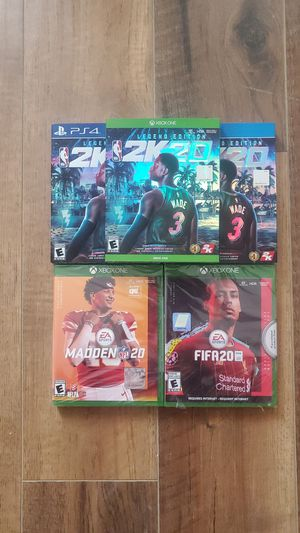 Sports game bundle - all brand new for Sale in Washington, DC
