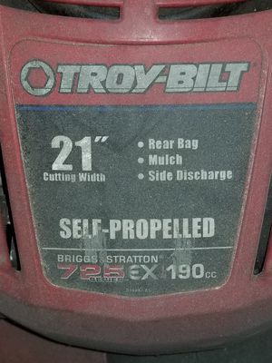 "Self propelled lawn mower 21"" troy built for Sale in Philadelphia, PA"