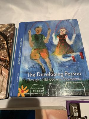 Developing person through childhood 9th edition for Sale in Irvine, CA