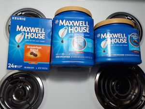 Maxwell house coffees for Sale in Canton, OH