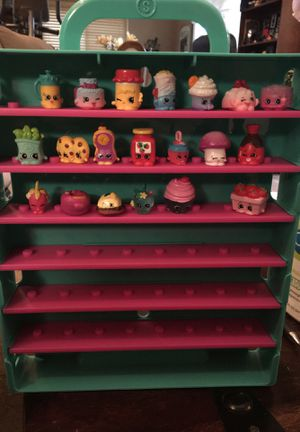 Shopkins toys in collectible case for Sale in Martinez, CA