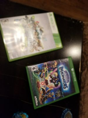 X Box 360 and Xbox One skylanders games and accessories for Sale in New Milford, CT