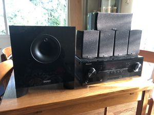 Pioneer VSX - 1021 Receiver and Energy Classic 5.1 Surround System - $300 for Sale in Milwaukie, OR
