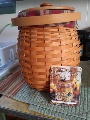 Longaberger October fields basket for Sale in Evergreen, CO