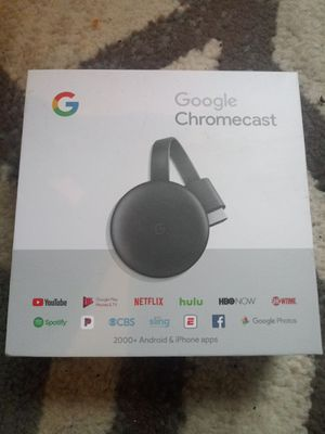 Google chromecast for Sale in Ravenna, OH