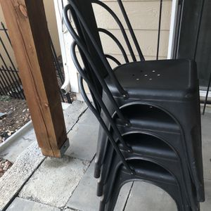 4 Modern Metal Chairs for Sale in Aurora, CO