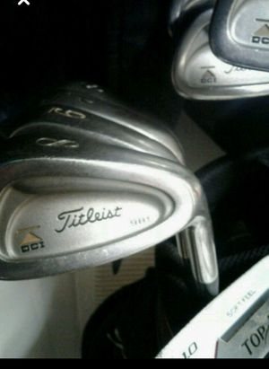 Titleist irons + Bag + 3 wood for Sale in Lexington, KY