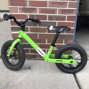 Navarro zipper Balance Bike for Sale in Broomfield, CO