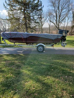 Sylvan 17' Aluminum Boat Project for Sale in Carol Stream, IL