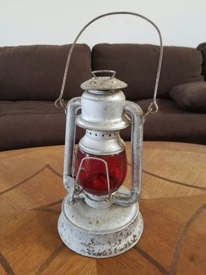 Antique Red Glass Lantern for Sale in Kealakekua, HI