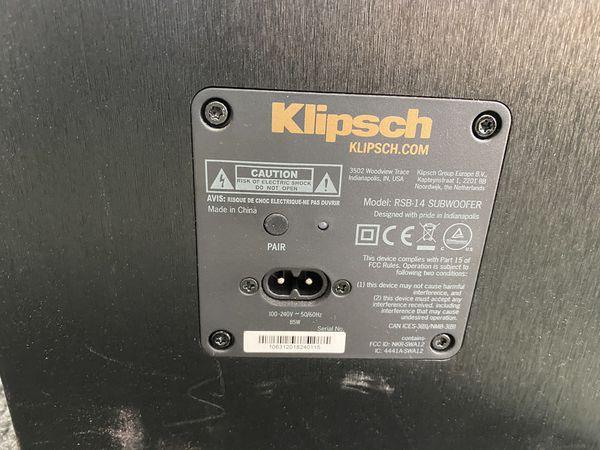 Klipsch RSB-14 Sound Bar with Wireless Subwoofer