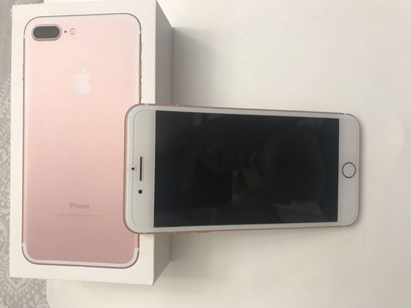 iPhone 7 Plus Rose Gold